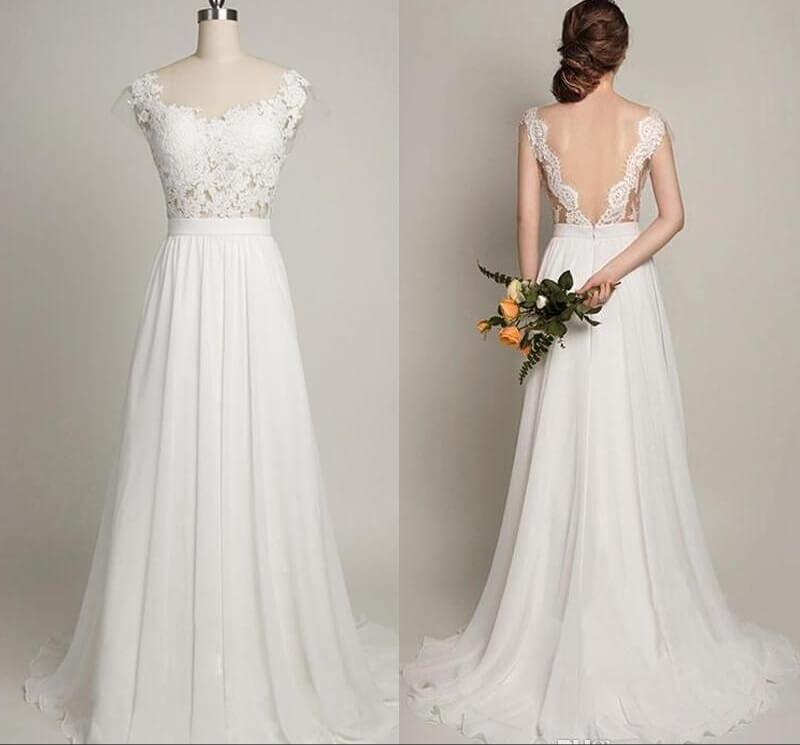 Angela Wedding Dress – Needful Things Bridal